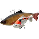 Силиконовая приманка Savage Gear 3D Pulse Tail Roach, 130 мм