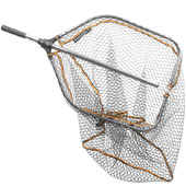 Подсачек Savage Gear Pro Folding Rubber Large Mesh Landing Net